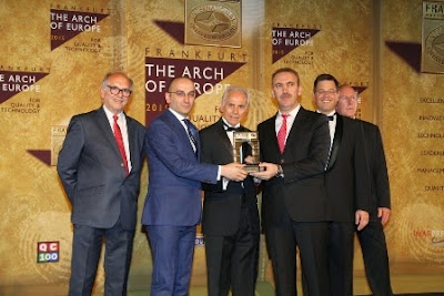 International Turkish Hope School receives The International Arch of Europe Award