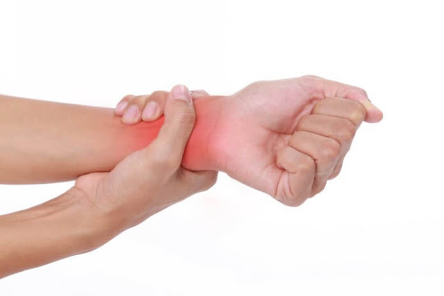 hand and wrist pain symptoms