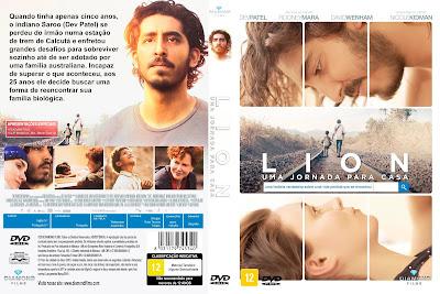Filme Lion - Uma Jornada Para Casa DVD Capa