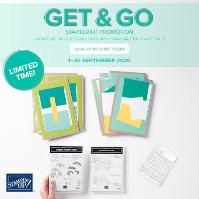 Get More with Stampin' Up! Starter Kit and you're ready To Go