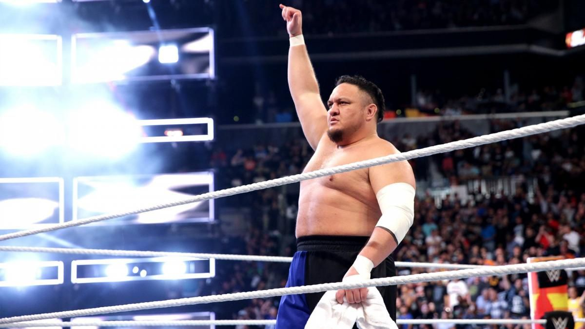 Samoa Joe esteve recentemente no WWE Performance Center