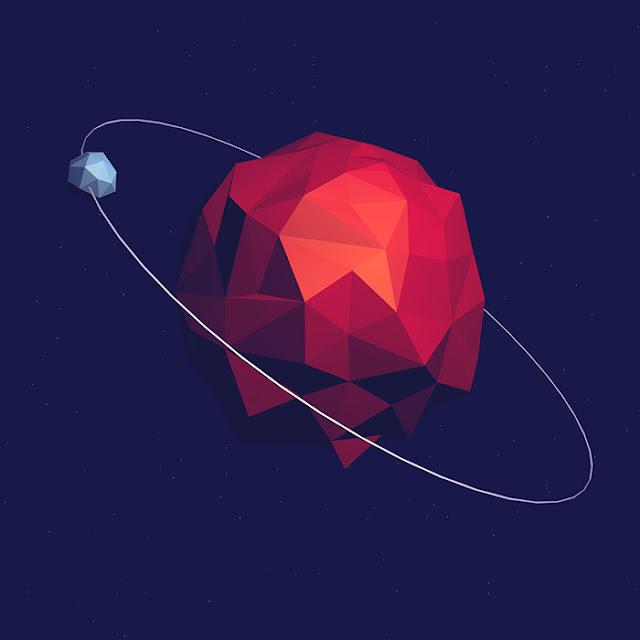 Polygon Planet Wallpaper Engine