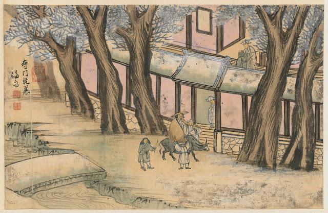 겸재(謙齋) 정선(鄭敾, 1676~1759) 경교명승첩(京郊名勝帖) 사문탈사