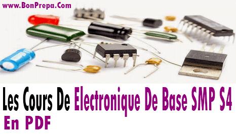 Cours Electronique De Base S4 SMP