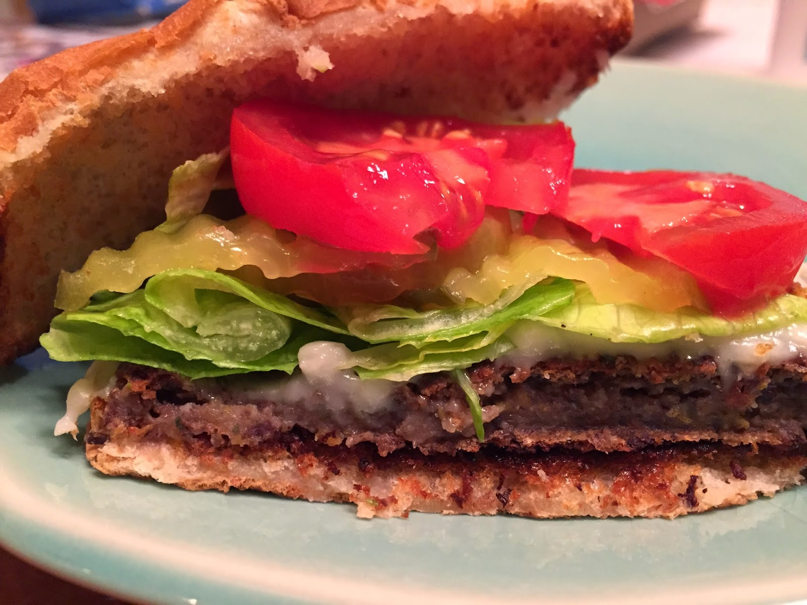 Black Bean Burgers that aren't mushy