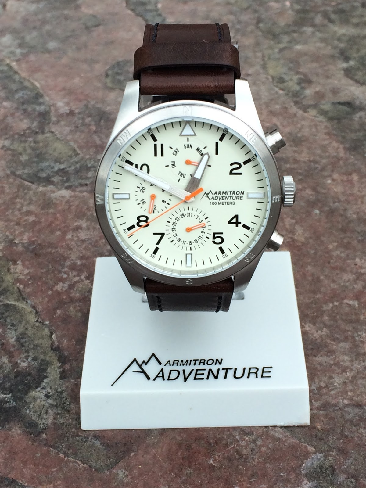 e98761292 This watch is a great accessory for whatever adventure arises out of your  day. I appreciate that it is professional enough to wear at work with a  suit; ...