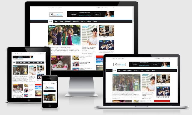 Raintimes Template For News And Magazine Gratis