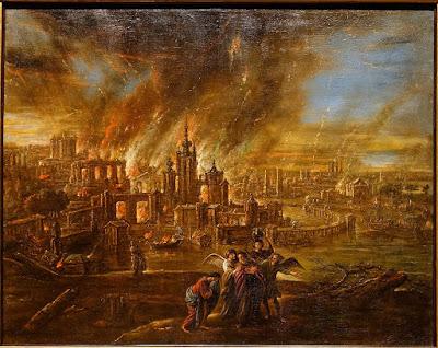 סדום ועמורה - ג'ייקוב דה וט השני 1680