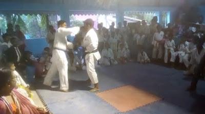 হুগলীর রঘুনাথপুরে ওপেন ডিসট্রিক্ট ক্যারাটে ডো কাতা প্রতিযোগিতা