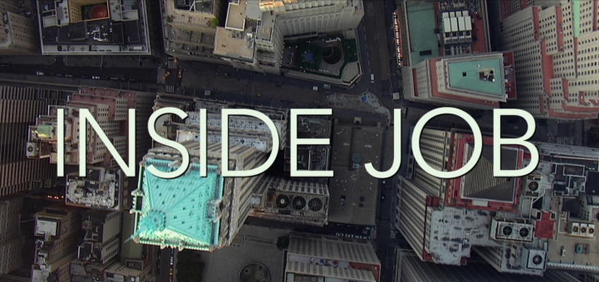 inside job 2 'inside job' provides a comprehensive analysis of the global financial crisis of 2008, which at a cost over $20 trillion, caused millions of people to lose their jobs and homes in the worst recession since the great depression, and nearly resulted in a global financial collapse.