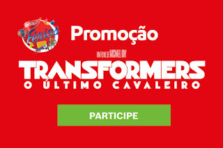 Promoção Transformers Extra concorra