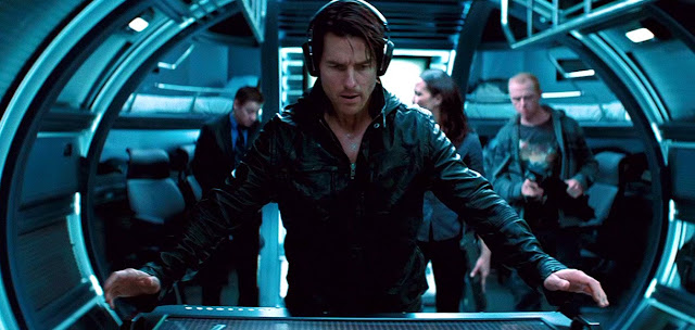 Tom Cruise in Mission Impossible: Ghost Protocol