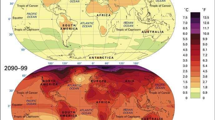 skenario perubahan iklim dalam Perjanjian Paris