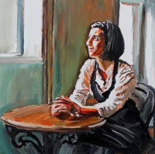 Ирландский художник. James Henry Johnston