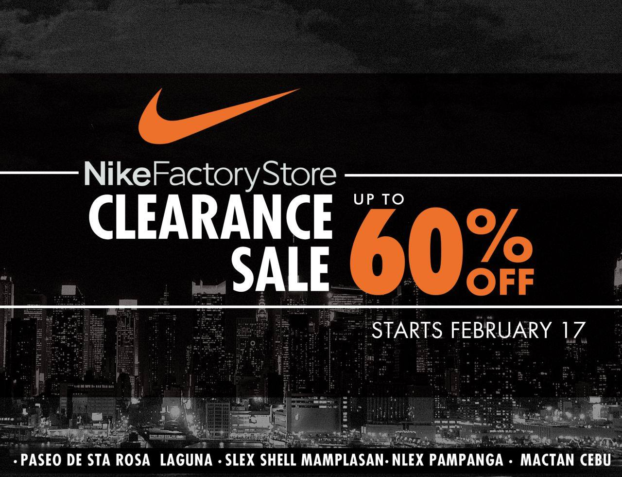Discounts average $11 off with a Nike Clearance Store promo code or coupon. 10 Nike Clearance Store coupons now on RetailMeNot.