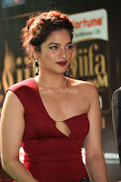 Natasha Nebasha in a Leg Slit Sleeveless Stunning Red Gown at IIFA Utsavam Awards 2017 037.JPG