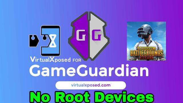 VirtualXposed for PUBG Mobile hack esp radar , gameguardian , sharpshooter [ No Root ]