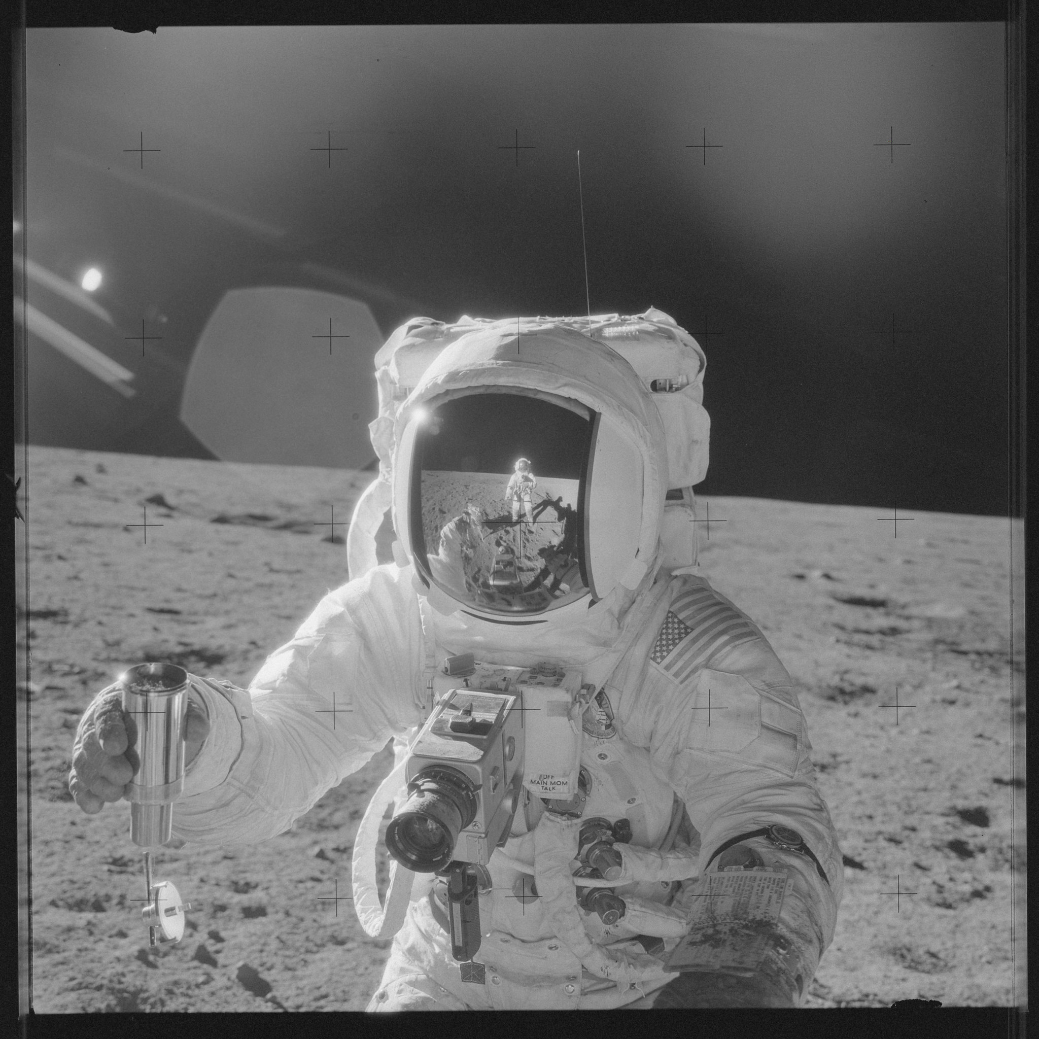 Das Project Apollo Archive | Hochauflösenden Fotos der Apollo Missionen der NASA