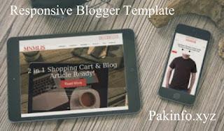 BlogrCart MNMLIS eCommerce Blogger Template