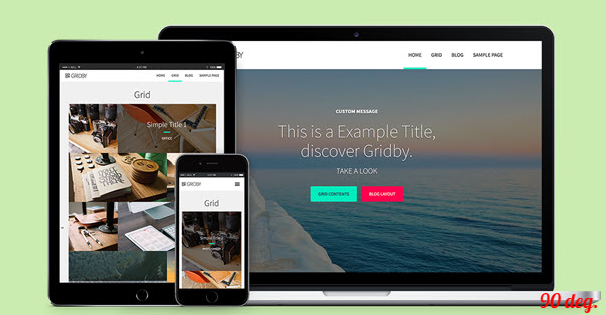 GRIDBY WORDPRESS THEMES