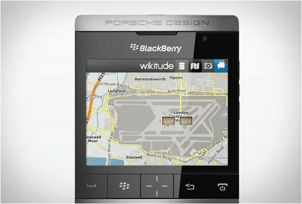 BlackBerry P9981 Smartphone by Porsche Design