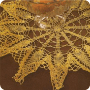 Tapete Amarillo a Crochet