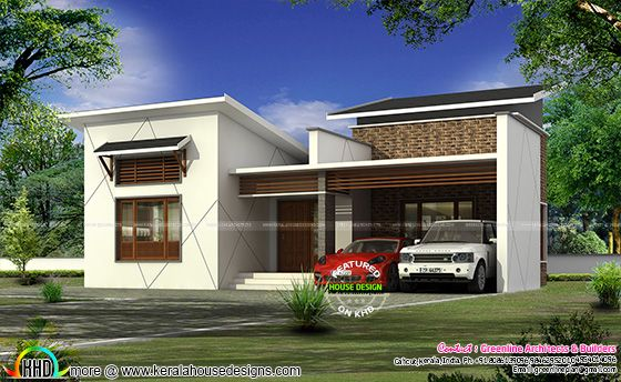 1777 sq-ft 3 bedroom contemporary single floor