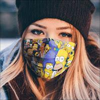 Tapabocas de Los Simpson
