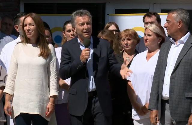 """Macri destacó que se """"dejó atrás la corrupción"""" del PAMI al recorrer un hospital en Mar del Plata"""