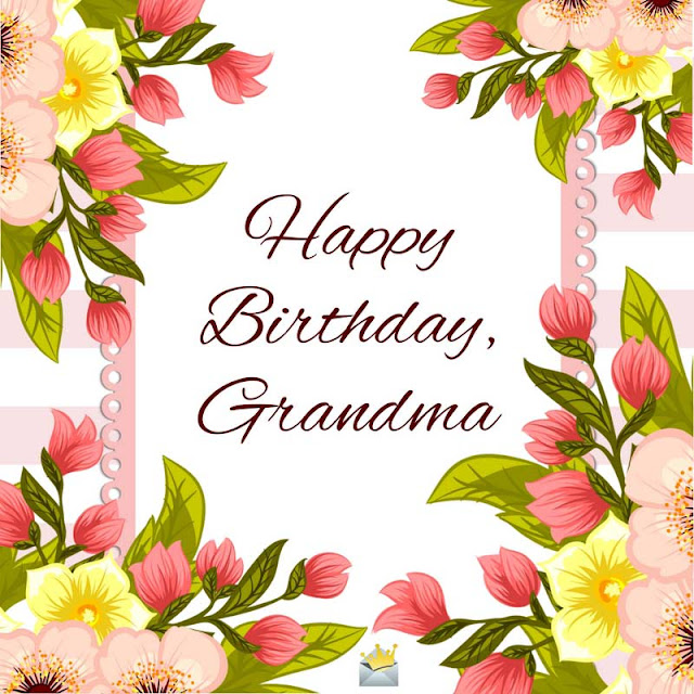 Happy Birthday Cards for a Grandmother
