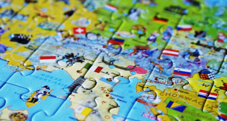 Europa Młodego Odkrywcy puzzle ArtGlob
