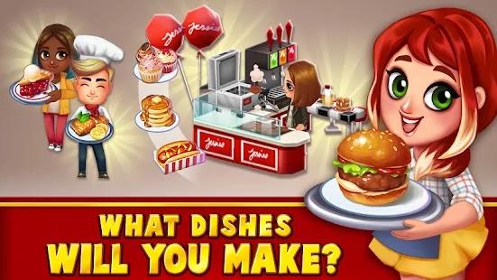 Food Street هي لعبة إدارة المطاعم والمحاكاة التي تتيح لك إنشاء وتصميم وتزيين مطعمك.