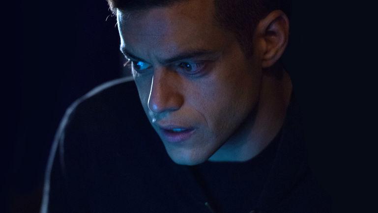 Rami Malek como Elliot en 'Mr. Robot'