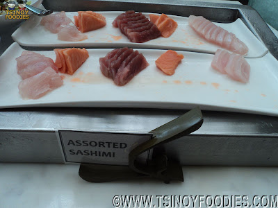 sashimi buffet