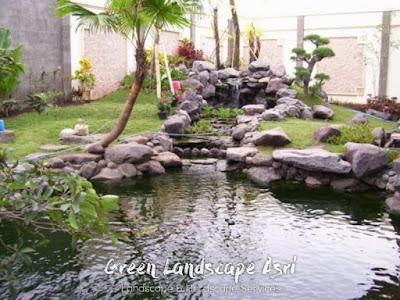 Jasa Pembuatan Relief Kolam Tebing Semarang | Tukang Dekorasi Relief Air Terjun