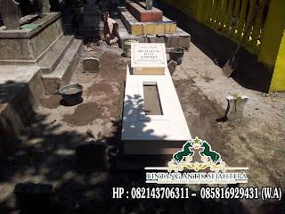 Makam Marmer Murah, Makam Trap 1 Marmer, Jual Kijing Makam Marmer