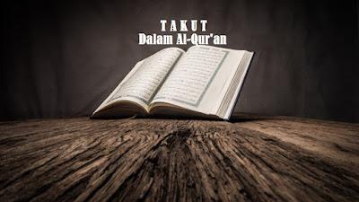 Makna Sifat Takut dalam Al-Qur'an