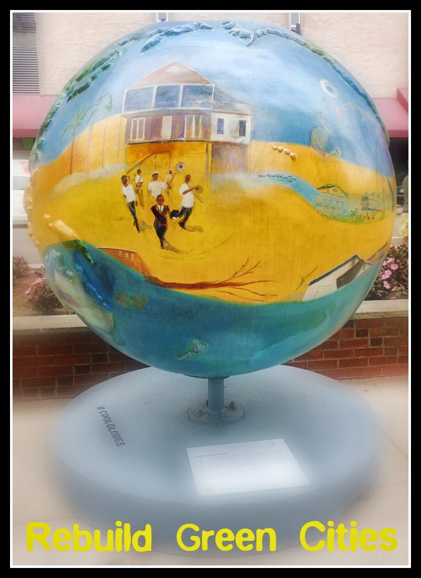 The Cool Globes en Boston: Rebuild Green Cities