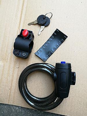 付属品の盗難防止の自転車鍵