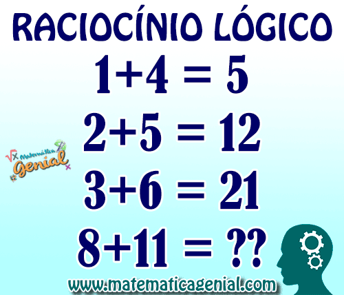 Desafio De Raciocínio Lógico Matemática Genial