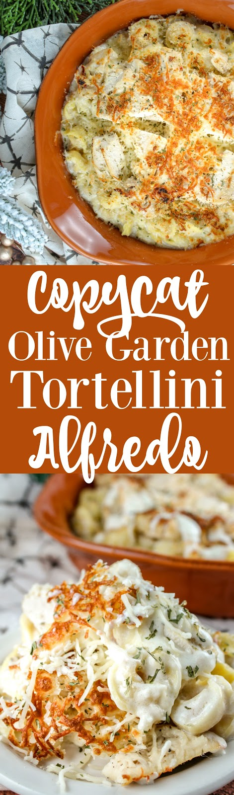 Copycat Olive Garden Oven Baked Tortellini Alfredo The Food Hussy