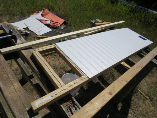 attaching paneling to a frame
