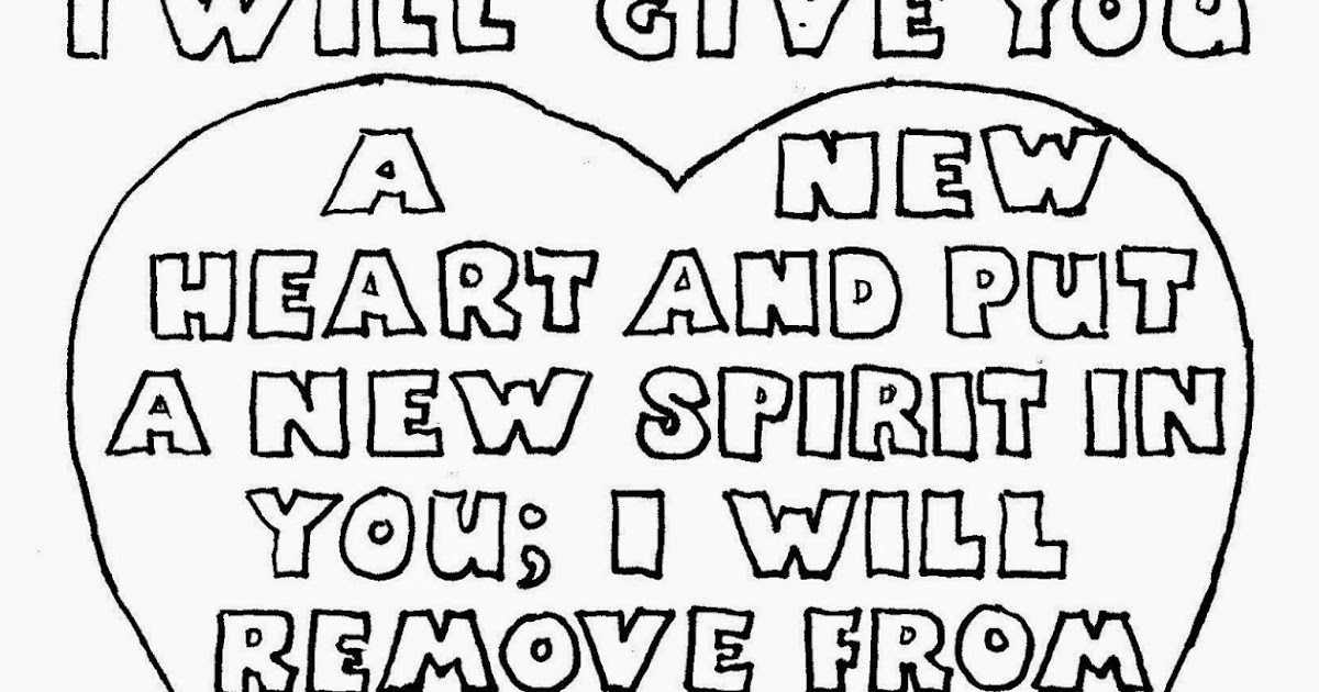 Coloring Pages for Kids by Mr. Adron: I Will Give You A