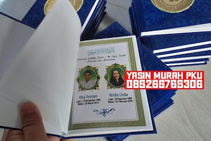 YASIN HARDCOVER MURAH PEKANBARU