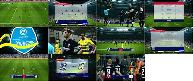 PES 2017 Scoreboard Eredivisie Season 19-20 by PES M.I