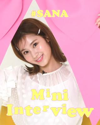 twice sana 1stlook tv interview english subbed