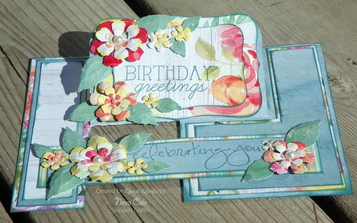 Finding snippets of time to craft birthday greeting featuring i always hang on to coordinated paper scraps and they often show up in cards later sometimes my design decisions are based on the size and type of snippets izmirmasajfo Choice Image