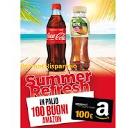 Logo Concorso ''Vinci con Coca-Cola e Autogrill '' : 100 buoni Amazon da 100 euro