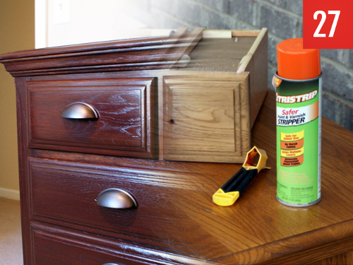 re-stain your furniture