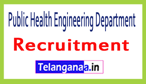 Public Health Engineering Department PHED Recruitment